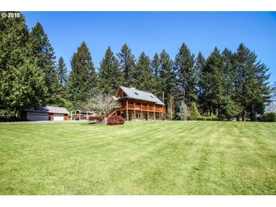 North Plains Single Family Home For Sale: 13670 NW Pumpkin Ridge Rd