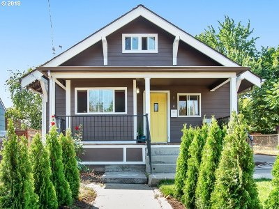 Portland Single Family Home For Sale: 834 N Webster St