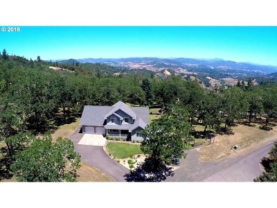 Roseburg Single Family Home For Sale: 110 Paradise Point Ln