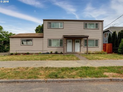 Portland OR Multi Family Home For Sale: $499,999