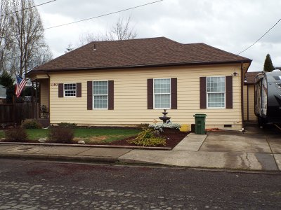 Cottage Grove, Creswell Single Family Home For Sale: 1180 N 16th St