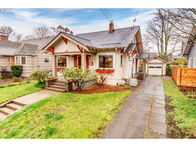 Single Family Home For Sale: 4203 NE 27th Ave