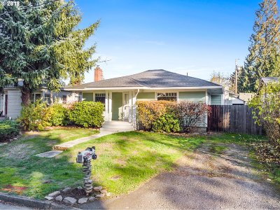 Vancouver Single Family Home For Sale: 3727 M St