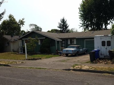 Eugene OR Single Family Home For Sale: $165,000