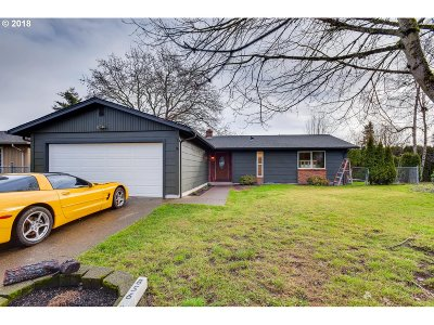 Keizer Single Family Home Sold: 856 Nightingale Ct