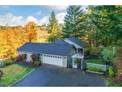 Scappoose Single Family Home For Sale: 57625 Alder Creek Rd