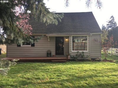 Clackamas County Single Family Home For Sale: 7808 SE Roots Rd