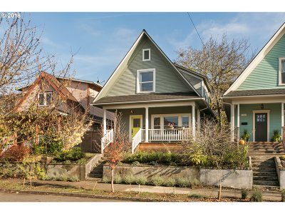 Portland Single Family Home For Sale: 4070 N Vancouver Ave