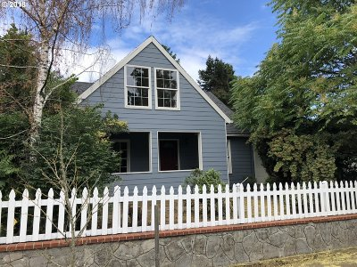 Single Family Home For Sale: 6235 NE 15th Ave