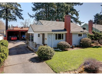 Portland OR Single Family Home For Sale: $329,900