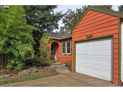 Single Family Home For Sale: 141 NE Lombard St
