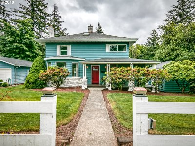 Single Family Home For Sale: 31700 E Hist Columbia River Hwy