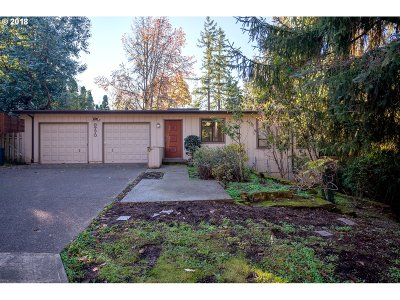 Portland Single Family Home For Sale: 9770 SW Washington St