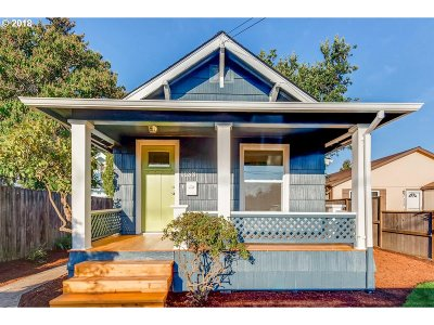 Portland Single Family Home For Sale: 1133 SE 86th Ave