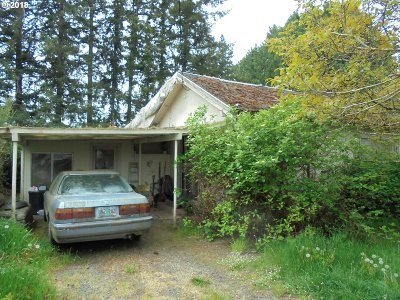 Coquille Single Family Home For Sale: 547 W 4th St