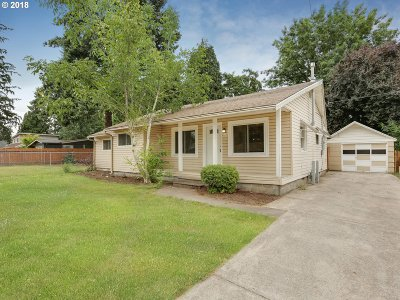 Vancouver WA Single Family Home For Sale: $284,900