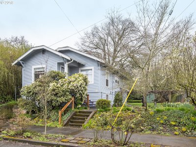 Portland OR Single Family Home For Sale: $449,900