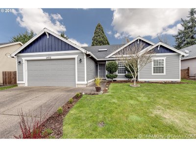 Wilsonville, Canby, Aurora Single Family Home For Sale: 1472 SE 8th Ave