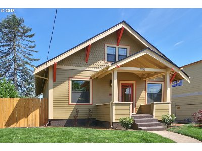 Portland Single Family Home For Sale: 935 N Stafford St