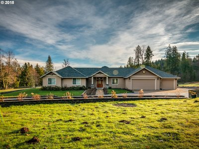 Single Family Home For Sale: 21580 SE McCabe Rd