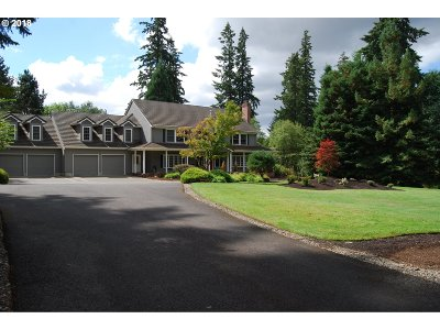 Tualatin Single Family Home For Sale: 6390 SW Delker Rd