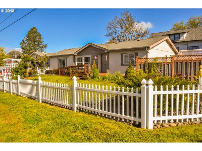 Newberg, Dundee, Mcminnville, Lafayette Single Family Home For Sale: 354 5th St