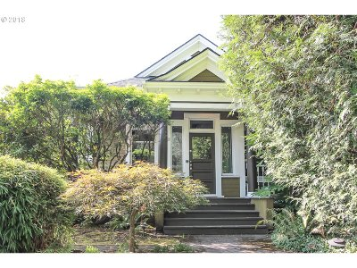 Portland Single Family Home For Sale: 2950 SE Salmon St