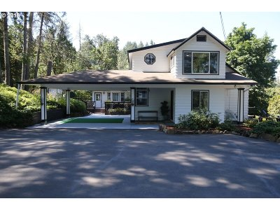 Eugene Single Family Home For Sale: 86319 Lorane Hwy