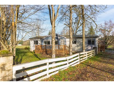 Clackamas County, Columbia County, Jefferson County, Linn County, Marion County, Multnomah County, Polk County, Washington County, Yamhill County Single Family Home For Sale: 16401 S Union Mills Rd
