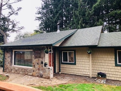 Florence Single Family Home For Sale: 90310 Hwy 101