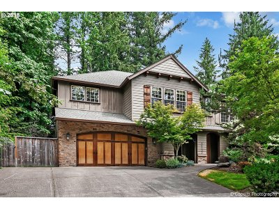 Lake Oswego Single Family Home For Sale: 19233 Indian Springs Rd