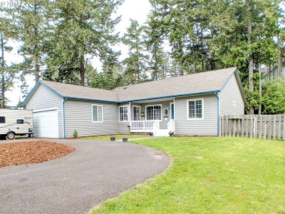 Coos Bay Single Family Home For Sale: 1120 Lakeshore Dr
