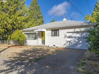 Single Family Home For Sale: 6929 SE Carlton St