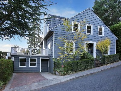 Portland Single Family Home For Sale: 734 NW Marlborough Ave