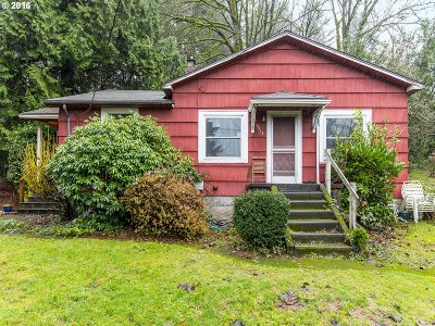 Portland Single Family Home For Sale: 5913 SW Clay St
