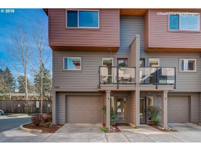 Portland Condo/Townhouse For Sale: 7926 SW 31st Ave #Lot 4