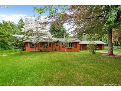 Oregon City, Beavercreek, Molalla, Mulino Single Family Home For Sale: 15220 S Highland Rd