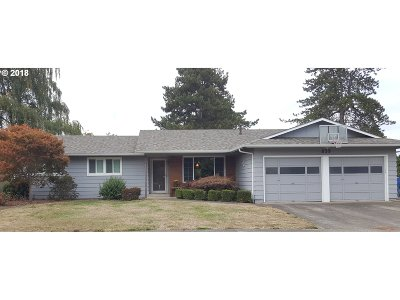 Keizer Single Family Home Pending: 839 Delta Dr
