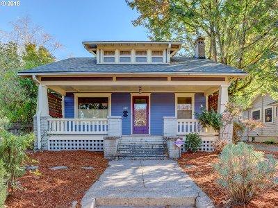 Single Family Home For Sale: 2634 NE Skidmore St