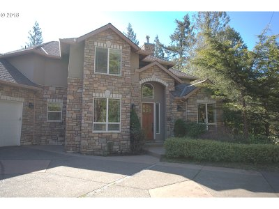 Portland Single Family Home For Sale: 11016 NW Skyline Blvd
