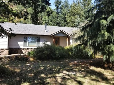 Stayton Single Family Home Sold: 14895 Old Mehama Rd