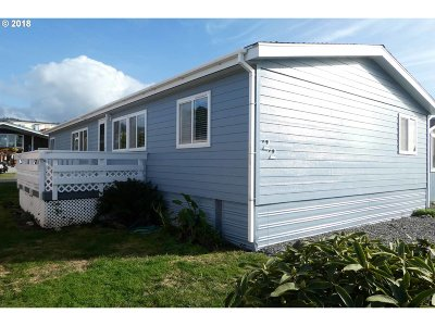 Gold Beach OR Single Family Home For Sale: $67,000