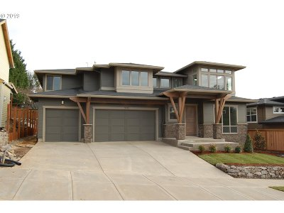 West Linn Single Family Home For Sale: 3123 Meadowlark Dr #Lot21
