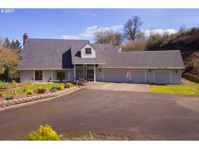 West Linn Single Family Home For Sale: 25320 SW Petes Mountain Rd