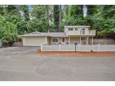 Milwaukie Single Family Home For Sale: 17608 SE Roethe Pl