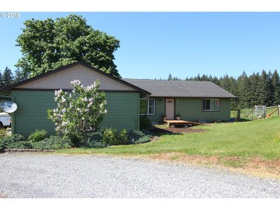 Mulino Single Family Home For Sale: 18203 S Windy City Rd