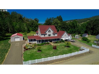 Roseburg Single Family Home For Sale: 255 Dawson Rd