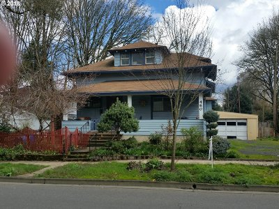 Salem Single Family Home For Sale: 460 13th St