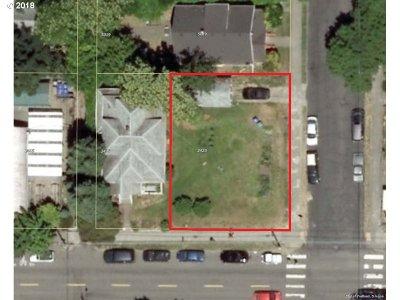 Portland Residential Lots & Land For Sale: NE Alberta St