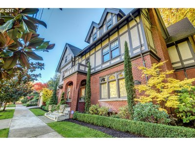Multnomah County Single Family Home For Sale: 1832 SW Elm St